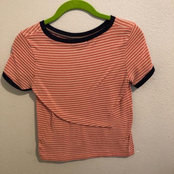Papaya Tops - Striped tee shirt